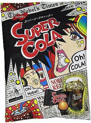 Japanese Extreme Super Cola Sour Flavored Hard Candy Nobel 3.1 Oz f/s