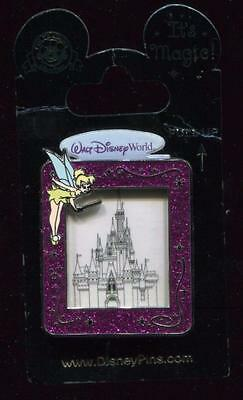 WDW It's Magic with Tinker Bell and Cinderella's Castle Disney Pin 87984