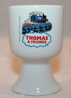 Thomas And Friends Built For Speed Train White Egg Cup Holder 2007 Gullane