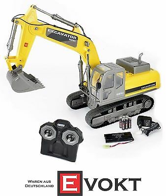 Carson Crawler Excavator Clean 100% RTR 1:12 500907237 FAIR ACTION
