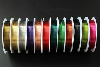 13 Assorted Colors Fly Tying Material 0.3mm Super Thin Copper Thread Copper Wire