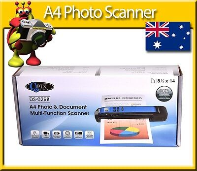 QPIX DS-02RB A4 Photo & Document Multi Function Scanner
