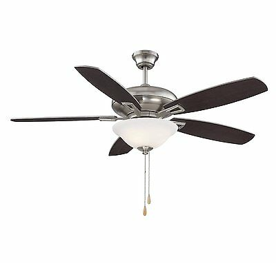 Savoy House 52-831-5RV-SN Mystique 5-Blade Ceiling Fan in Satin Nickel