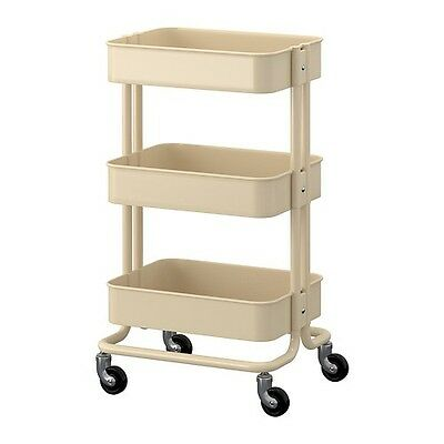 IKEA Raskog kitchen trolley kitchen island, beige,Storage, Bathroom