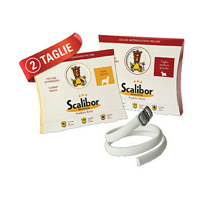 SCALIBOR PROTECTOR BAND FOR DOGS Tick & Flea Collar for Dogs