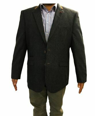 """Mens Smart Formal Semi Fitted Sports Jacket """"Neston"""" In Chest Size 50 to 62 S/R"""