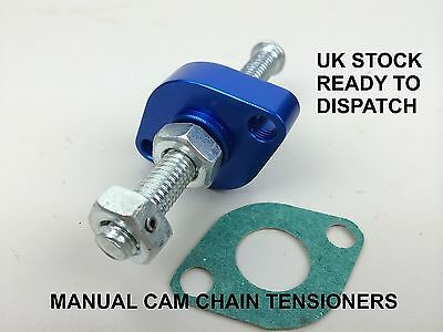 1996 - 2008 Kawasaki Vn 1500 Classic Manual Cam Chain Tensioner Brand New Blue