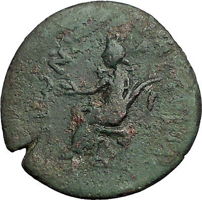 AUGUSTUS Emperor on AMPHIPOLIS in MACEDONIA Authentic Ancient Roman Coin i55747