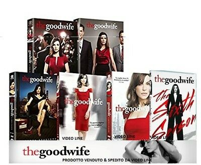 Dvd THE GOOD WIFE - Stagione 01-02-03-04-05-06 (Box 36 Dischi) Serie Tv .NUOVO