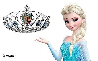 Disney Frozen Crown,Elsa, Anna Tiara Fancy Princess Accessories Gift, Party Bag