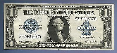 CC&C $1 1923 - Silver Certificate Note - Woods / White  Z27949602D - SHIPS FREE!