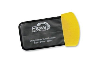 Flow X-ray Safe 'n' Sure Deluxe Phosphor Plate Barrier Envelopes Size 1 300/box