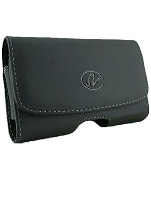 Horizontal Leather Pouch Case Cover For ZTE/Acatel/BLU/Kyocera Fit OtterBox Life