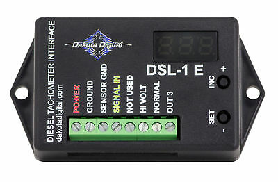 Dakota Digital Universal Diesel Tach Adapter Alternator Interface DSL-1E