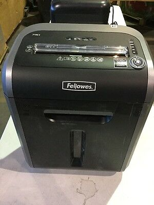 Fellowes - Powershred 79Ci 100% Jam Proof Medium-Duty Cross-Cut Shredder