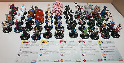 52 x HorrorClix and HeroClix Lot Of WizKids DC Marvel and More