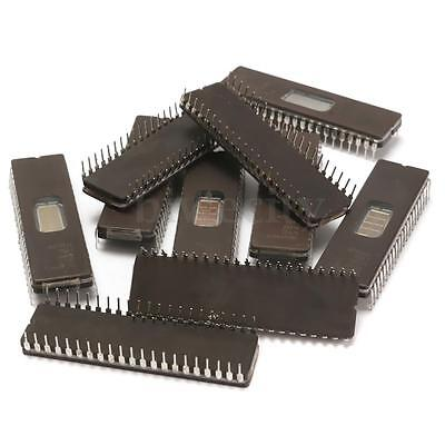 10Pcs Orinigal M27C322-100F1 DIP-42 Mbit EPROM For Microprocessor System Black