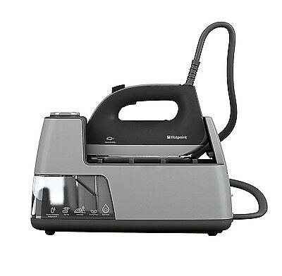 Hotpoint  SG E12 AA0 UK Power Perfection Steam Glide Iron  Scale Proof- Black