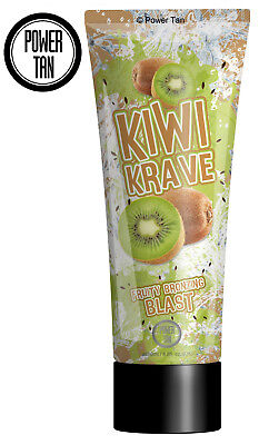 Power Tan Kiwi Krave Tanning Sunbed Lotion Cream Accelerator 250ml Tube