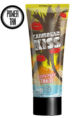 Power Tan Caribbean Kiss Tingle Tanning Sunbed Lotion Cream Accelerator 250ml