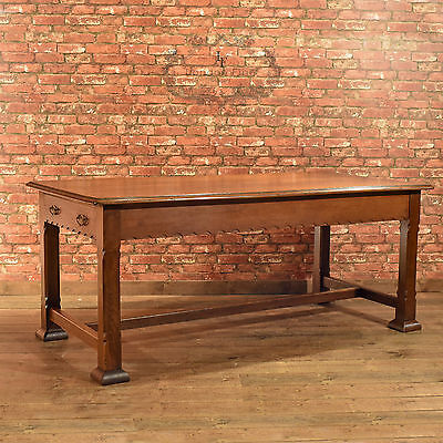 Antique Oak Table, Arts & Crafts, Liberty Quality, English, Victorian c.1900