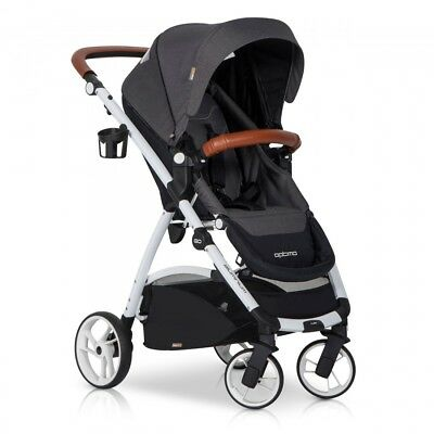 OPTIMO Anthracite Buggy Kinderwagen Sport Spazierwagen Baby Set
