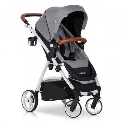 OPTIMO Grey Fox Buggy Kinderwagen Sport Spazierwagen Baby Set