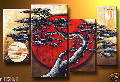 YAKAI Modern Abstract hand-paint Art Oil Painting on Canvas no frame Wall Decor