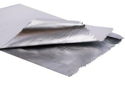 """7x9x12"""" Foil Lined Paper Bag White - Pack of 500"""