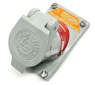 APPLETON EFSR-20232M Malleable Iron Receptacle 20-Amp 2-W 3-P