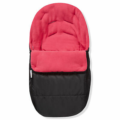 Car Seat  Footmuff / Cosy Toes Compatible With Maxi Cosi Pebble Pink Rose