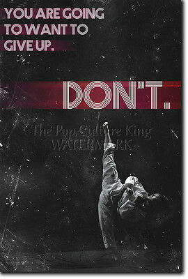 "Taekwondo Motivational Quote Poster 03 ""Don't"" Photo Print Motivation Mma"