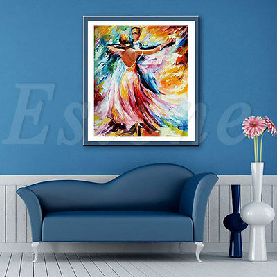 5D Diamond Dance Embroidery Painting Cross Stitch Kit Diy Home Wall Decoration
