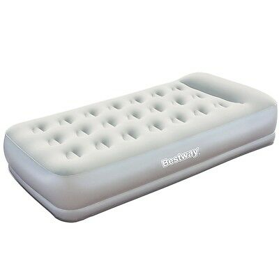 Bestway Air Bed Inflatable Mattress Home Camping Sleeping Mat Single Size New