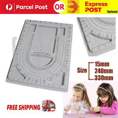 Bead Board String Beading Jewellery Design Organiser Tray Craft