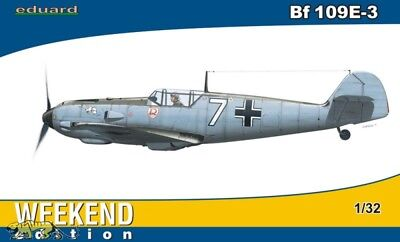 Messerschmitt Bf 109 E-3 - Weekend Edition - 1:32 - Eduard 3402