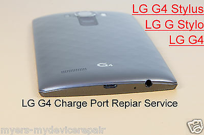 LG G4, LG G Stylo, LG Stylus G4 Beat Charge charging Port Mail in repair service