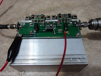 140-1230 MHz 33dB Amplifier @ 24V/750mA 0.1W SMA Input & Output connector New!!!
