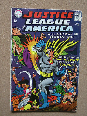 Justice League of America #55 (Aug 1967, DC) VG-