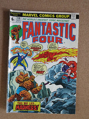 FANTASTIC FOUR #138 (SEPT 1973,Marvel)VG