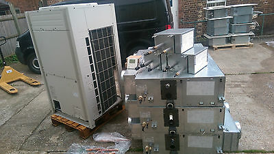 Daikin VRV System Complete - 28Kw - 3 x FXSQ80M Ducted Air Conditioning units