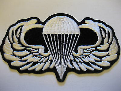 Parachute In A Cloud Sew On Patch  Vintage