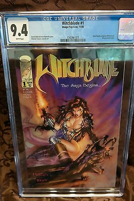 Witchblade 1 cgc 9.4 white pages