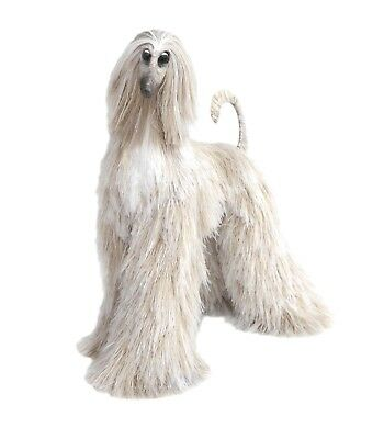 Collectibles Animals Blonde Nuts Afghan Hound Cute Plush Mini Toy Stuffed Animal