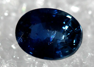 Genuine Natural Sapphire Royal Blue oval Shape Faceted SB-04