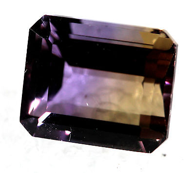 Genuine Natural Ametrine Emeral Shape Faceted AM-03