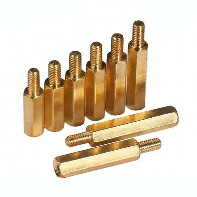 M3 x 4mm-20mm Female-male Hex Brass Spacer Screw Motherboard Standoff Riser