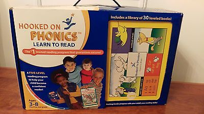 Original Hooked on Phonics Reading Program - Outstanding Condition Learn English