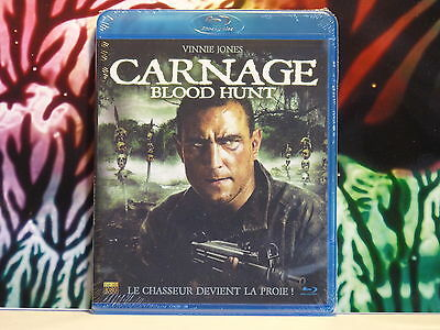 Blu Ray neuf sous blister : Film CARNAGE BLOOD HUNT Le chasseur devient proie