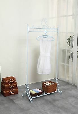 PROMOTION! Chic Metal Garment Rack - Free Standing Clothes Stand - Portable C...